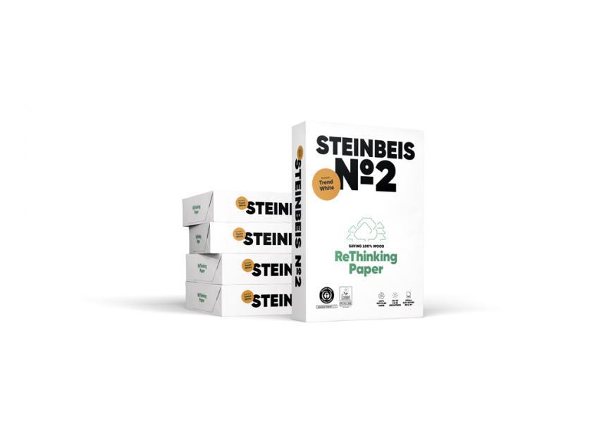 Χαρτί Steinbeis Ανακυκλωμένο Α4 80g 5x500 Sheets Box (STEINBOXA4)