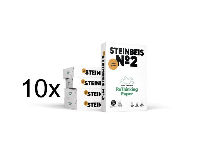 Χαρτί Steinbeis Ανακυκλωμένο Α4 80g 10 Boxes (STEIN10BOXA4)