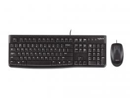 Πληκτρολόγιο/Ποντίκι Logitech Desktop MK120 GR Layout (920-002541)