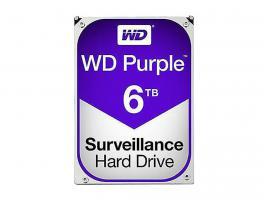 Εσωτερικός Σκληρός Δίσκος HDD Western Digital Purple 6TB SATA III 3.5-inch (WD60PURZ)