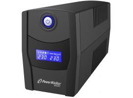 UPS PowerWalker Line Interactive VI 1000 STL 1000VA (PS) + Webroot Antivirus (10121074)