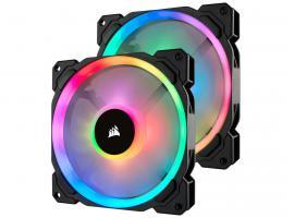 Ανεμιστήρας Corsair LL140 140mm Dual Light Loop Dual Kit RGB (CO-9050074-WW)