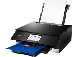 Πολυμηχάνημα Canon Color inkJet Pixma TS8350 Black (3775C006AA)