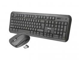 Keyboard/Mouse Trust 23015 Nova Wireless GR Layout (23015)