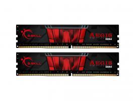 Μνήμη RAM G.Skill Aegis 16GB (2x8) DDR4 3000MHz (F4-3000C16D-16GISB)