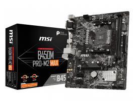 Μητρική MSI B450M Pro-M2 Max (7B84-017R)