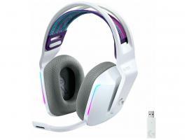 Gaming Headset Logitech G733 Lightspeed RGB White (981-000883)