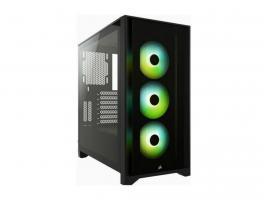 Κουτί Corsair iCUE 4000X RGB Black (CC-9011204-WW)