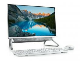 All-in-One Dell Inspiron 5400 23.8-inch Touch i7-1165G7/16GB/256GBSSD+1TBHDD/GeForce MX330/W10P/2Y (471450417)