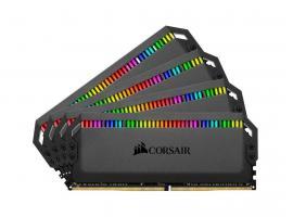 Μνήμη RAM Dominator Platinum RGB 32GB (4X8GB) DDR4 3000MHz C15 (CMT32GX4M4C3000C15)
