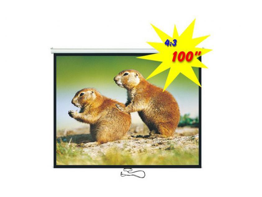 Οθόνη Προβολής Brateck PEBC100 100-inch (PEBC100)