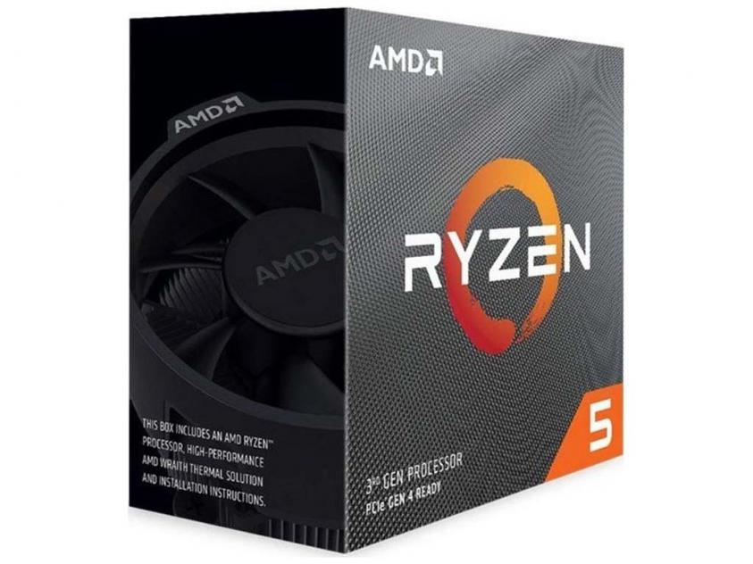 Επεξεργαστής AMD Ryzen 5 3600X Box (100-100000022BOX)