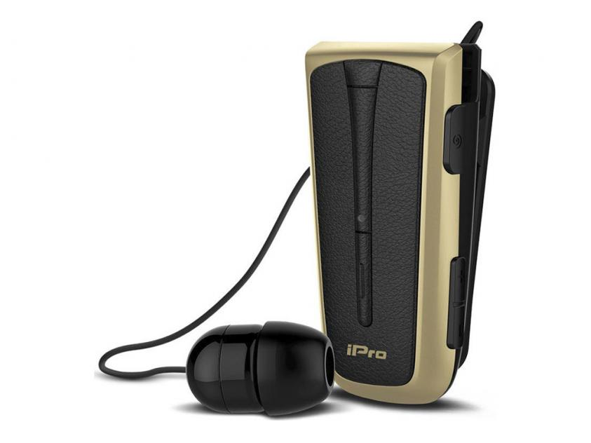 Ακουστικά iPro RH219s Bluetooth Black/Gold (RH219SBK/G)
