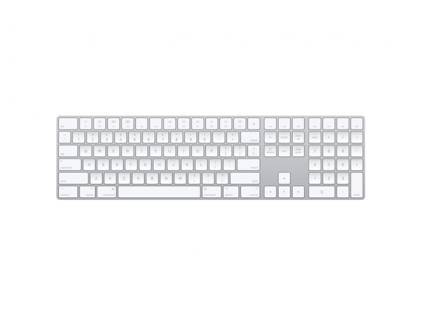 Apple Keyboard Magic with Numeric Keypad Greek Space Grey (MRMH2GR/A)