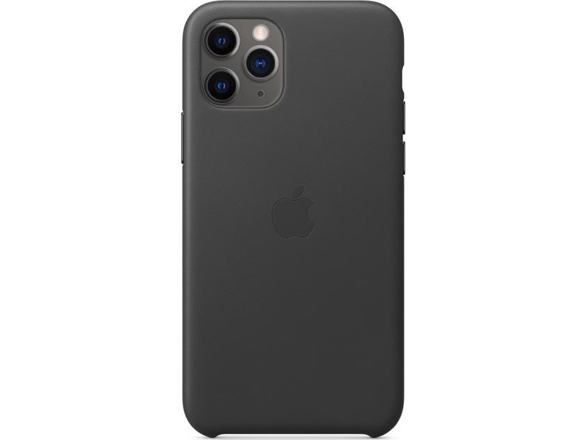 Apple iPhone 11 Pro Leather Case Black