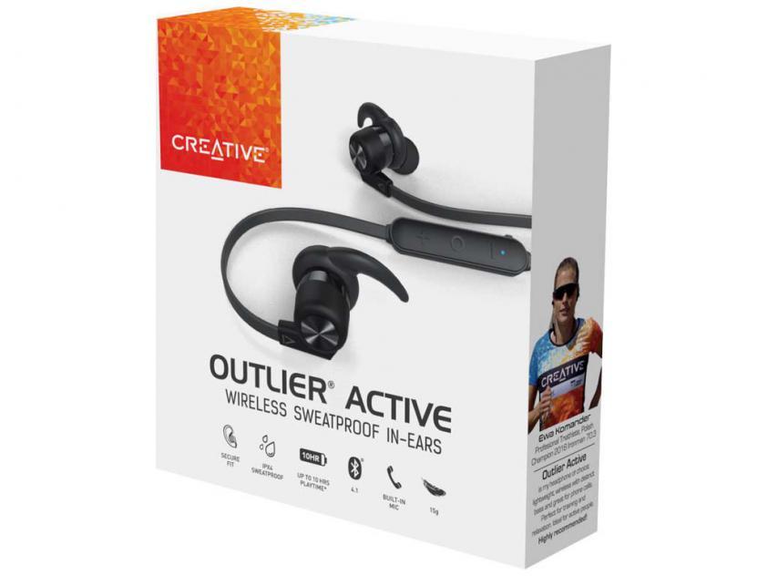 Ακουστικά Handsfree Creative Outlier Active (51EF0760AA001)