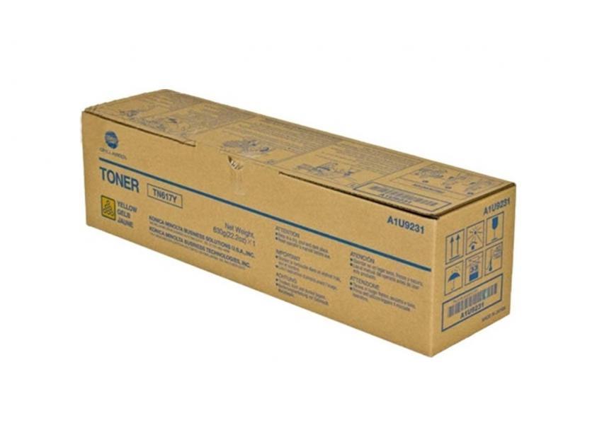 Toner Konica Minolta TN-617Y Yellow 31000Pgs (A1U9231)