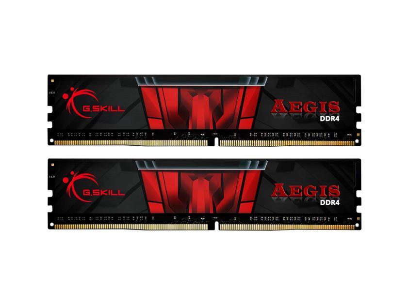 Μνήμη RAM G.Skill Aegis 32GB (2x16) DDR4 3000MHz (F4-3000C16D-32GISB)
