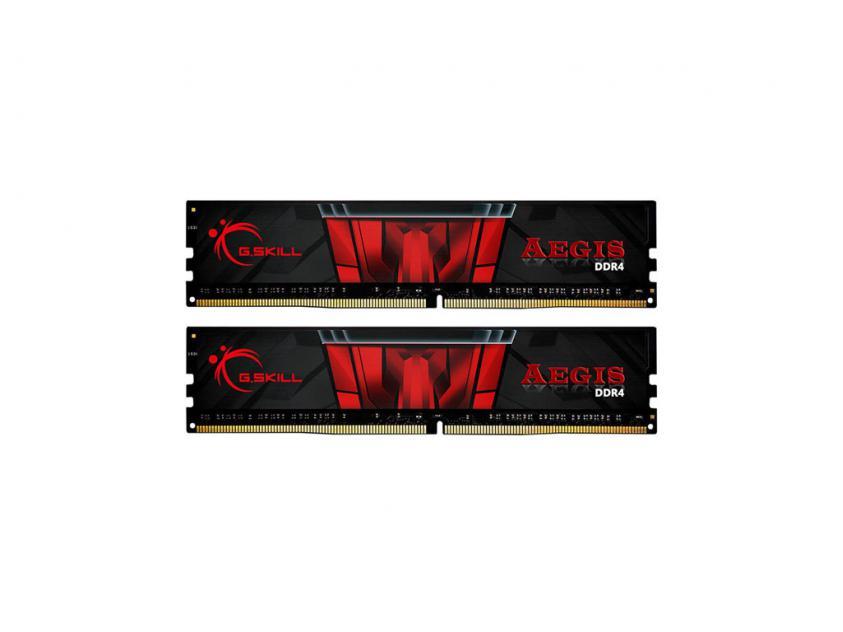 Μνήμη RAM G.Skill Aegis 16GB (2x8) DDR4 3200MHz (F4-3200C16D-16GIS)