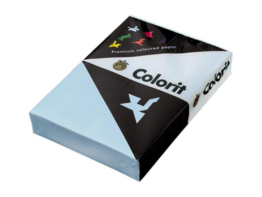 Χαρτί Lessebo Colorit A4 160gm2 Sky Blue 5x500-Sheets Box (387972box)
