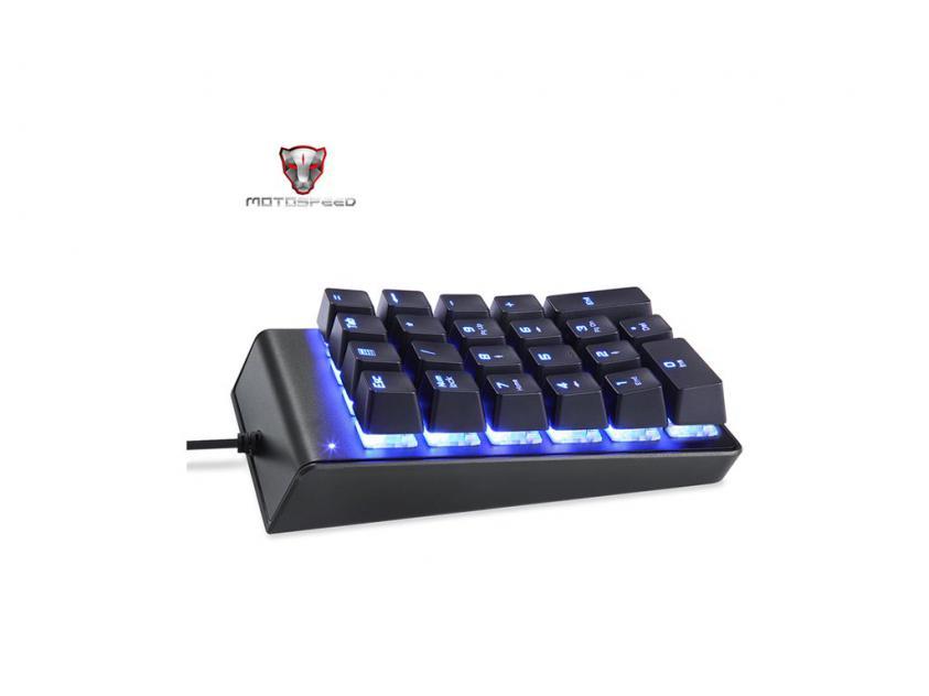 Gaming Mechanical Keypad Motospeed K22 Blue Switches (MT00077)