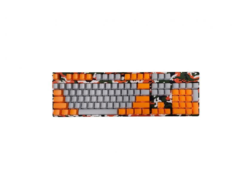 Gaming Keyboard Motospeed K96 RGB Camo Orange Red Switches (MT00060)