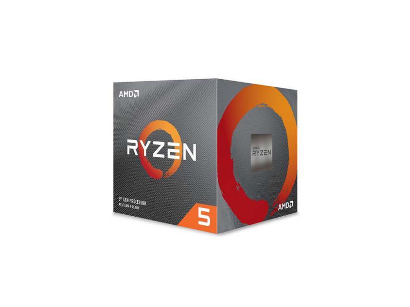 Επεξεργαστής AMD Ryzen 5 3600XT Box (100-100000281BOX)