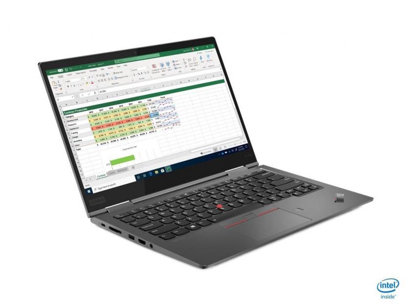 Laptop Lenovo ThinkPad X1 Yoga Convertible 14-inch i7-10510U/16G/512GΒ/W10P/3Y (20UB0000GM)