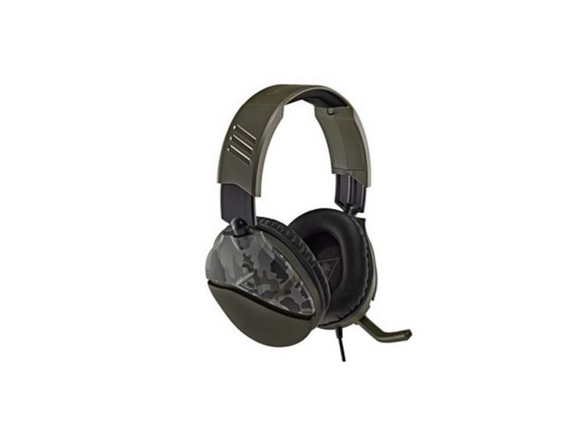 Gaming Headset Turtle Beach Recon 70 Green Camo (TBS-6200-02)