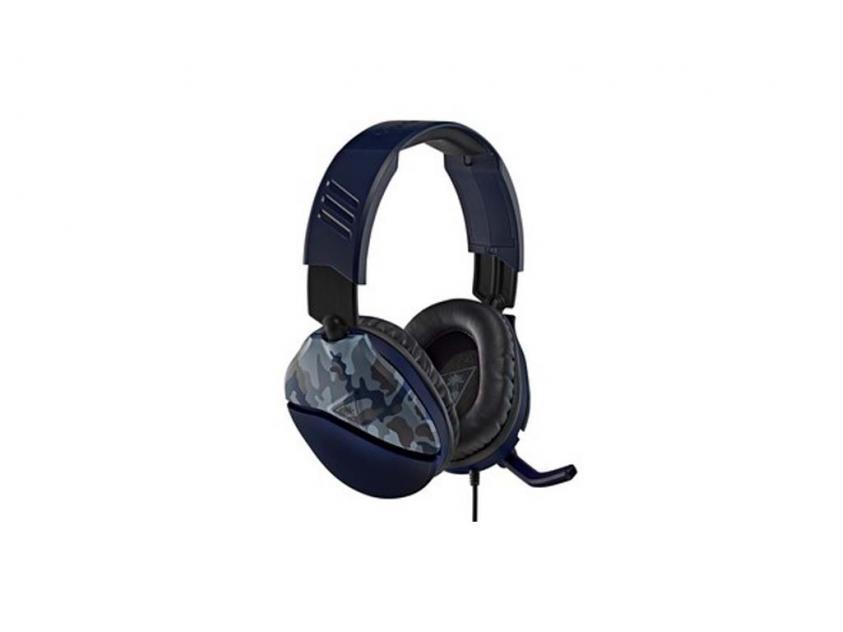 Gaming Headset Turtle Beach Recon 70 Blue Camo (TBS-6555-02)