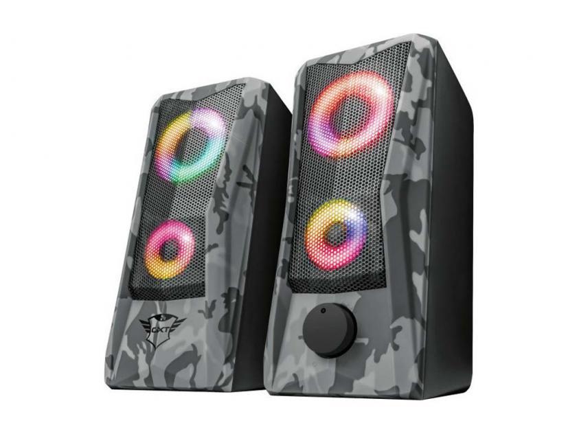 Gaming Speakers Trust GXT 606 Javv RGB Illuminated 2.0 12W (23379)