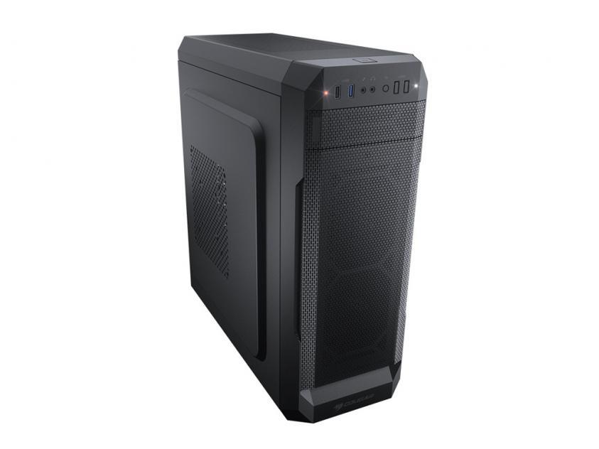 CC-COUGAR Case MX331 Mesh-Χ Middle ATX Black (MX331 MESH-X)