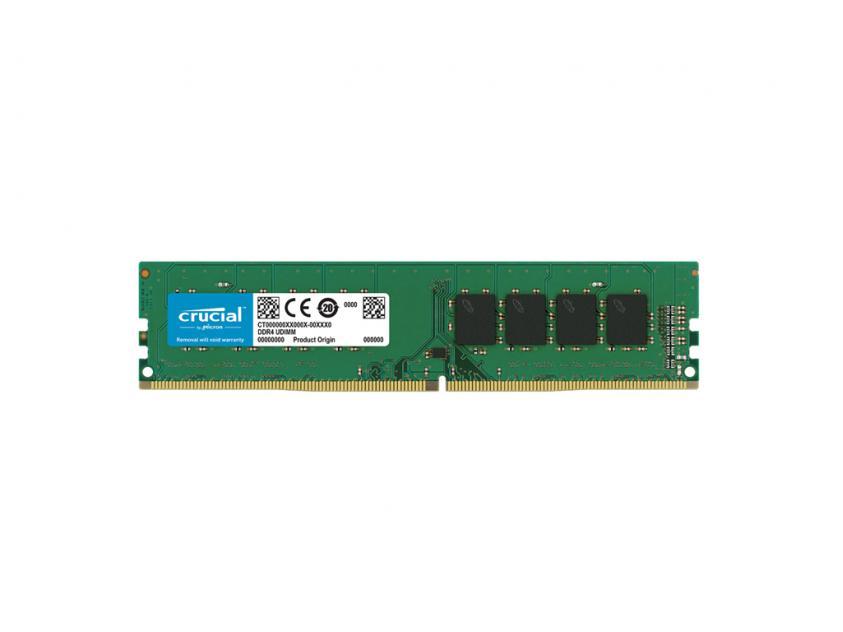 Μνήμη Crucial 16GB DDR4-2666Mhz UDIMM (CT16G4DFD8266)