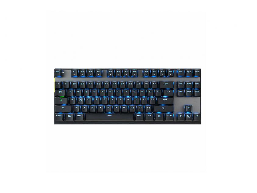 Gaming Mechanical Keyboard Motospeed GK82 Black Wireless GR Layout Blue Switches (MT00140)