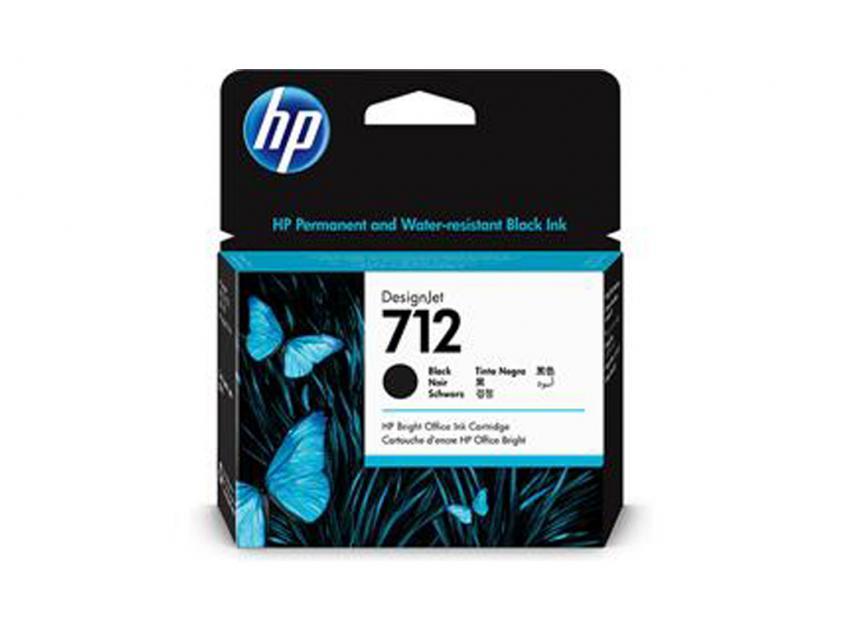 Μελάνι HP 712 Black 80ml (3ED71A)
