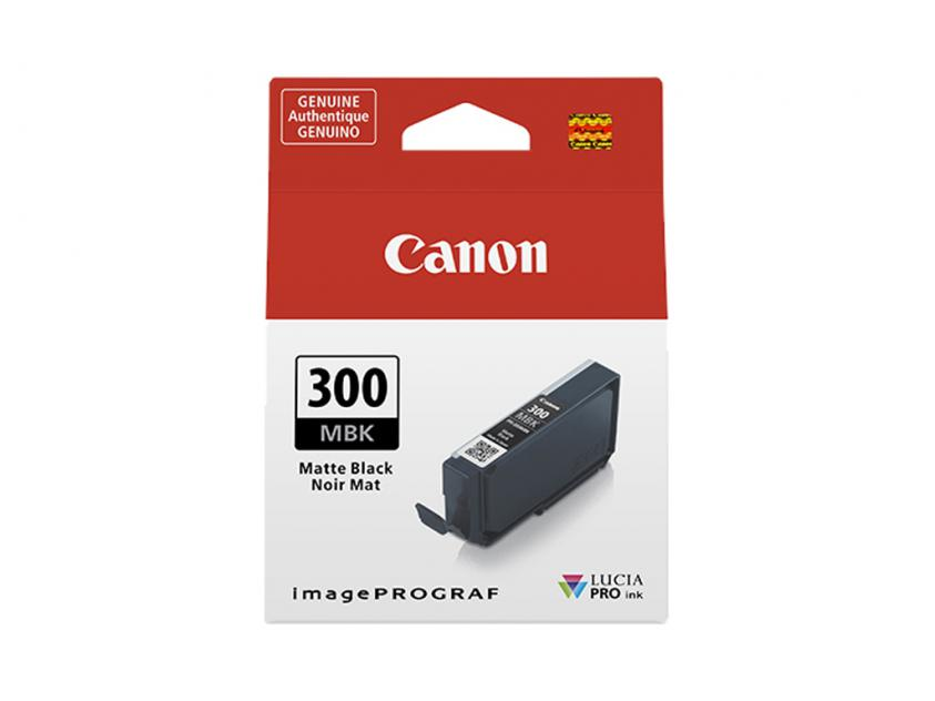 Μελάνι Canon PFI-300MBK Matte Black 14ml (4192C001)