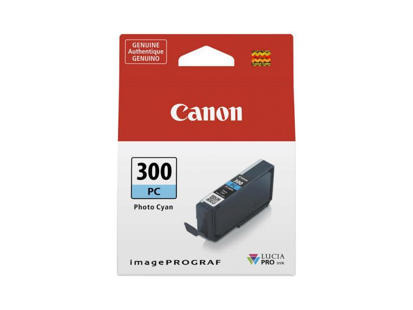 Μελάνι Canon PFI-300PC Photo Cyan 14ml (4197C001)