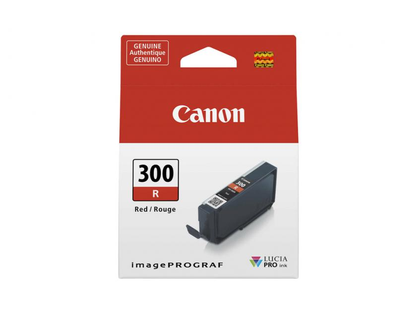 Μελάνι Canon PFI-300R Red 14ml (4199C001)