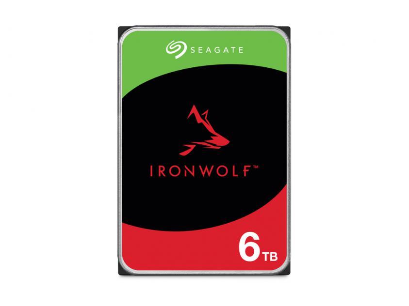 Εσωτερικός Σκληρός Δίσκος Seagate IronWolf 6TB SATA III 3.5-inch (ST6000VN001)