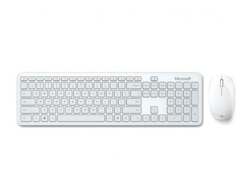 Πληκτρολόγιο/Ποντίκι Microsoft Set Bluetooth Monza Grey (QHG-00056)