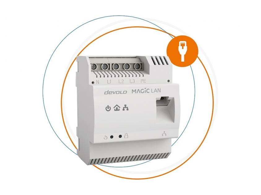 Powerline Devolo Magic 2 LAN DINrail (8528)