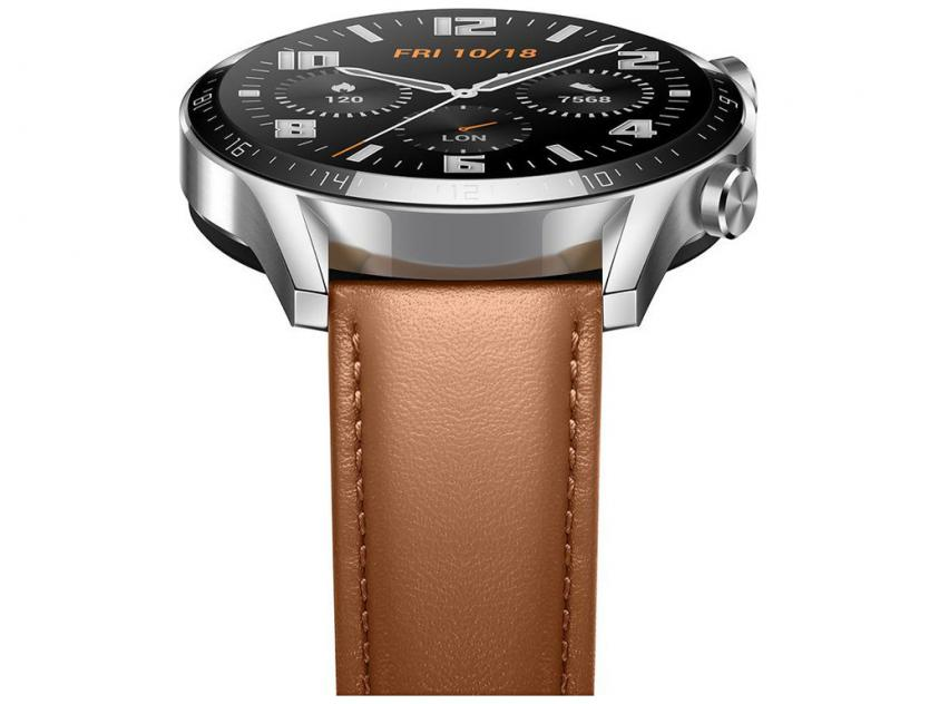 Smartwatch Huawei GT 2 Classic 46mm Leather Brown EU (LTN-B19BRN)