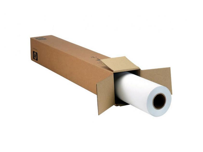 4WM99A HP Satin Wrapping Paper, 3-in Core (914 mm x 45.72 m) 100 g/m²