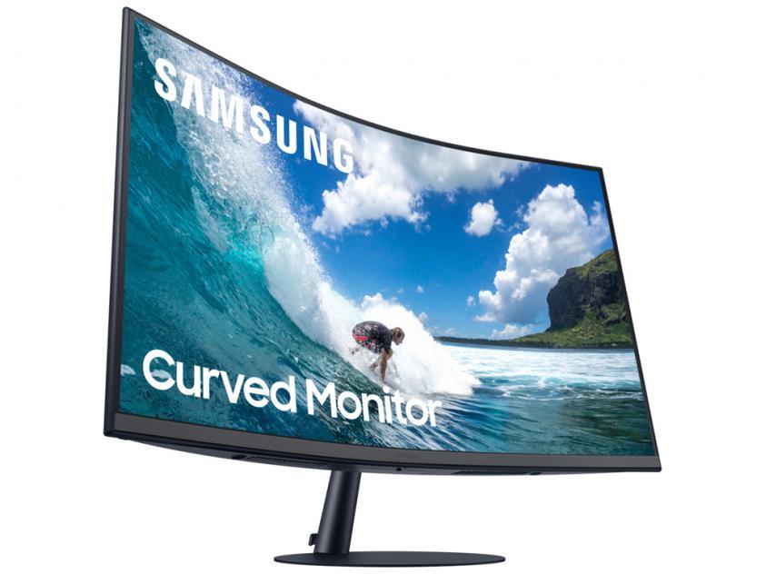 Οθόνη Samsung LC27T550FDUXEN 27-inch LED Curved (LC27T550FDUXEN)
