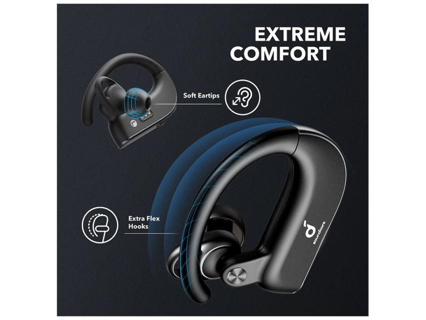Ακουστικά Handsfree Anker Soundcore Spirit X2 Black (A3918G11)
