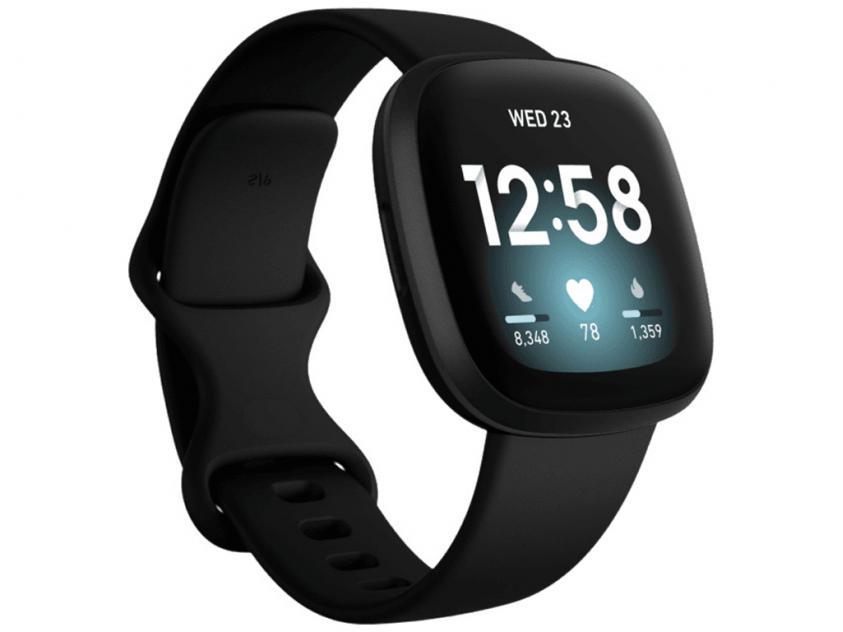 SmartWatch Fitbit Versa 3 Black (FB511BKBK)