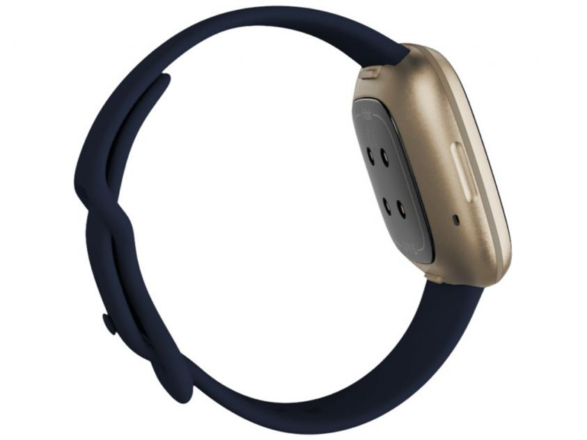 SmartWatch Fitbit Versa 3 Midnight/Soft Gold (FB511GLNV)