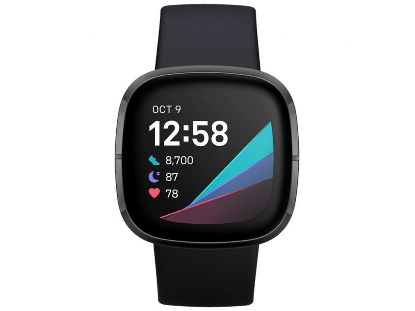 SmartWatch Fitbit Sense Black (FB512BKBK)