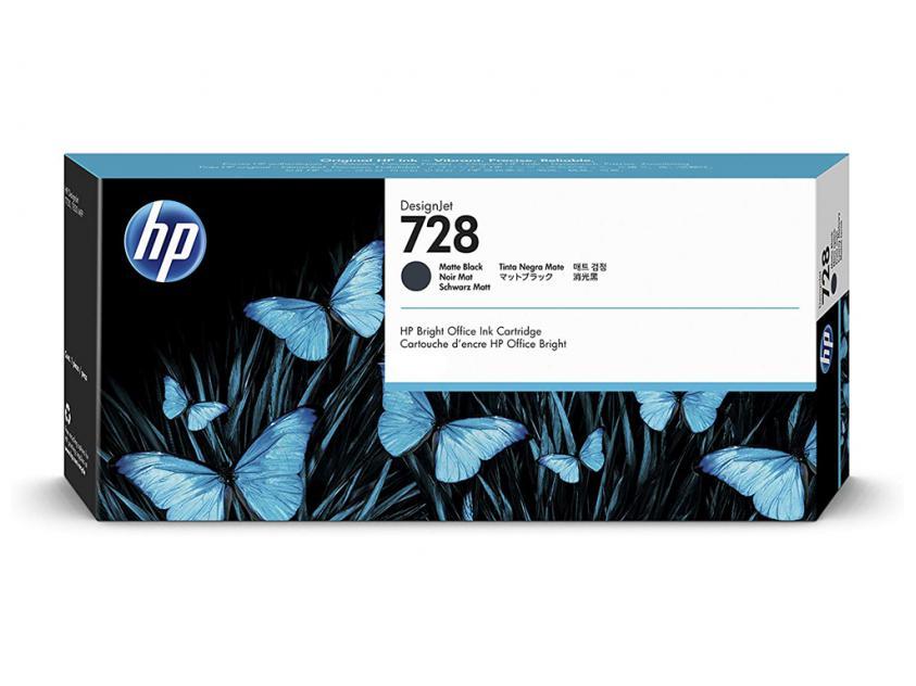 Μελάνι HP 728 Matte Black 130ml (3WX25A)