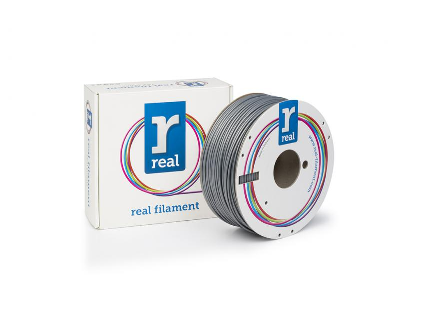 3D Printer Filament Real ABS 2.85mm Spool of 1Kg Silver (NLABSSILVER1000MM3)